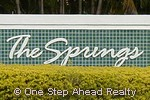The Springs community sign